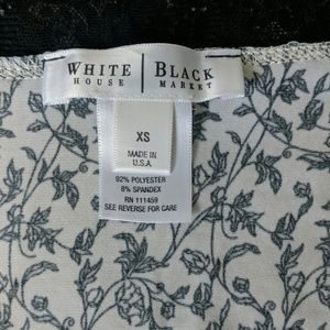White House Black Market Tops - WHBM |🥀floral lace rose camisole layering tank XS